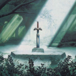 Master Sword in the Lost Woods (Ref)