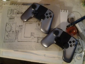 Ouya Controllers