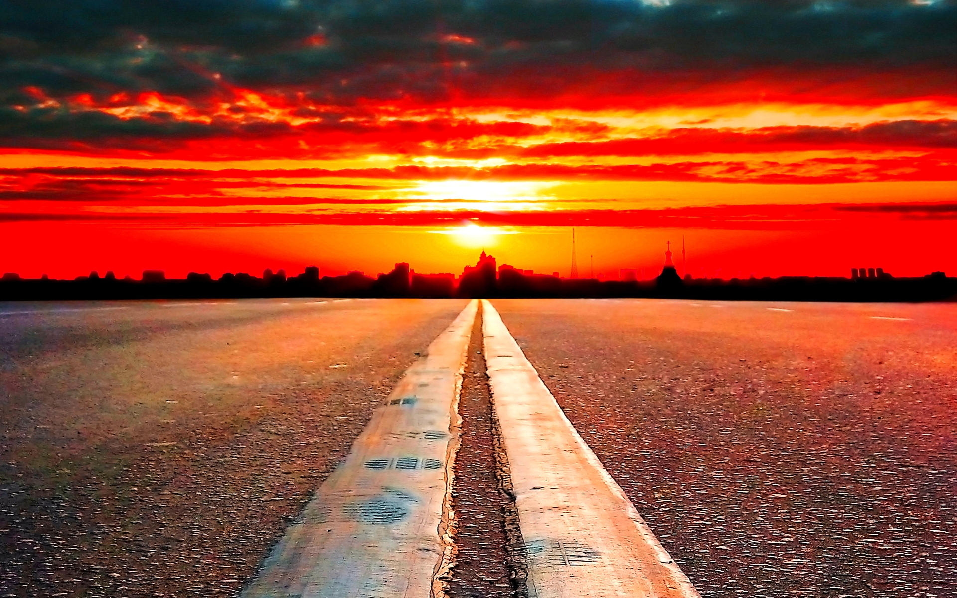 road-to-horizon
